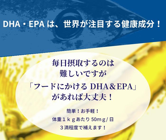 DHA・EPAは、世界が注目する健康成分!